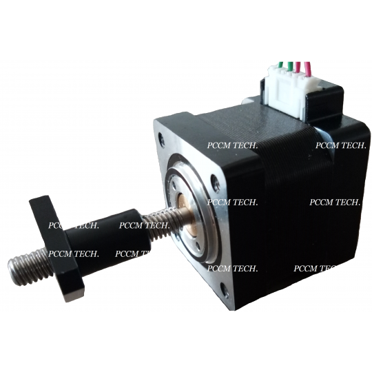 PCCM custom stepper motor